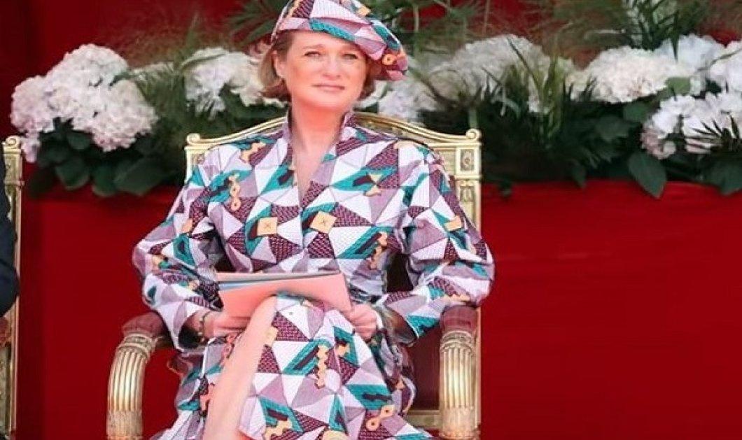 Η πριγκίπισσα Delphine του Βελγίου στο πρώτο της royal event: Με funky outfit η 53χρονη - «κρυφή» κόρη του πρώην βασιλιά (φωτό & βίντεο) - Κυρίως Φωτογραφία - Gallery - Video