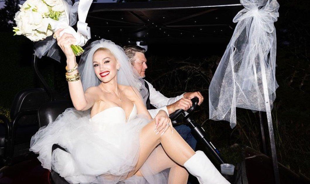 Γκουέν Στεφάνι - Μπλέικ Σέλτον: Ρομαντικός γάμος στο ράντσο τους στην Οκλαχόμα - Φόρεσε 2 σέξι νυφικά της Vera Wang (φωτό) - Κυρίως Φωτογραφία - Gallery - Video