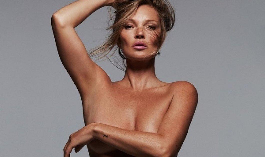 Από τον Calvin Klein στο Skims: Η Kate Moss το πρόσωπο του brand της Kim Kardashian - η μία skinny, η άλλη πιο «ζουμερή» (φωτό) - Κυρίως Φωτογραφία - Gallery - Video
