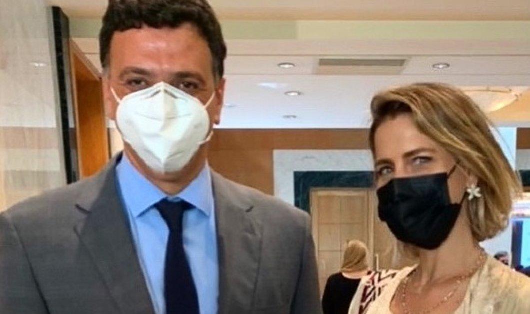 Η Τατιάνα Μπλάτνικ στον αγώνα κατά του covid - Το meeting με τον υπουργό Υγείας Βασίλη Κικίλια (φωτό)  - Κυρίως Φωτογραφία - Gallery - Video
