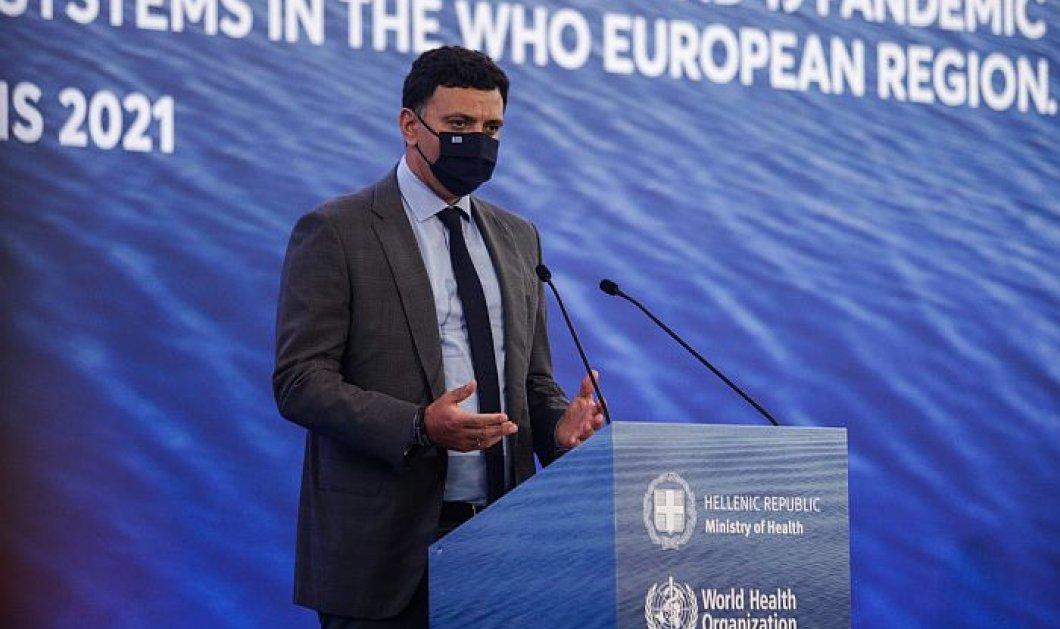 Β. Κικίλιας: Νέα οικονομικά κίνητρα σε γιατρούς και φαρμακοποιούς, προκειμένου να εμβολιαστούν περισσότεροι πολίτες - Κυρίως Φωτογραφία - Gallery - Video