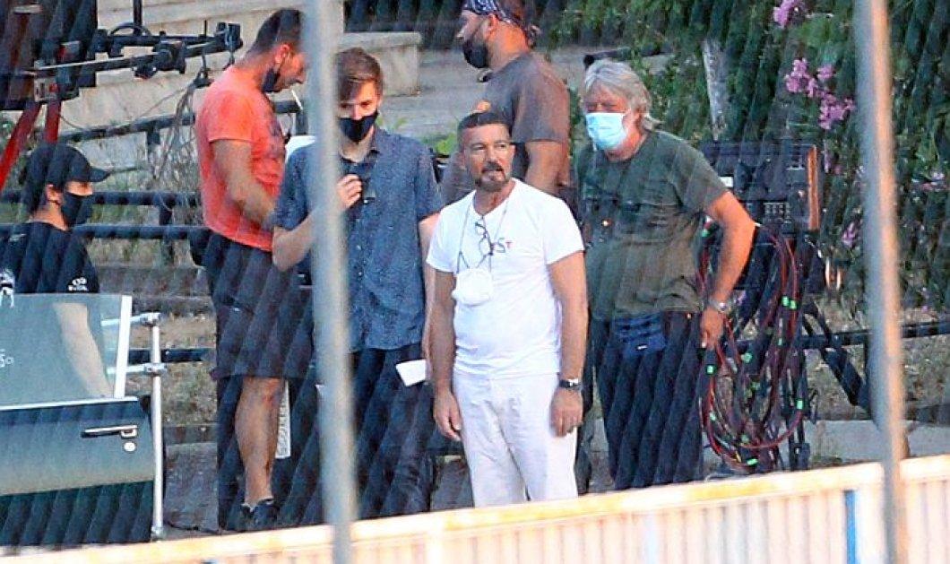 """Αντόνιο Μπαντέρας: Πέμπτη ημέρα γυρισμάτων για την ταινία """"The Enforcer"""" & ''καταδίωξη'' στον περιφερειακό -  Μαζί του & η Αμερικανίδα σταρ Κέιτ Μπόσγουρθ (φωτό - βίντεο) - Κυρίως Φωτογραφία - Gallery - Video"""