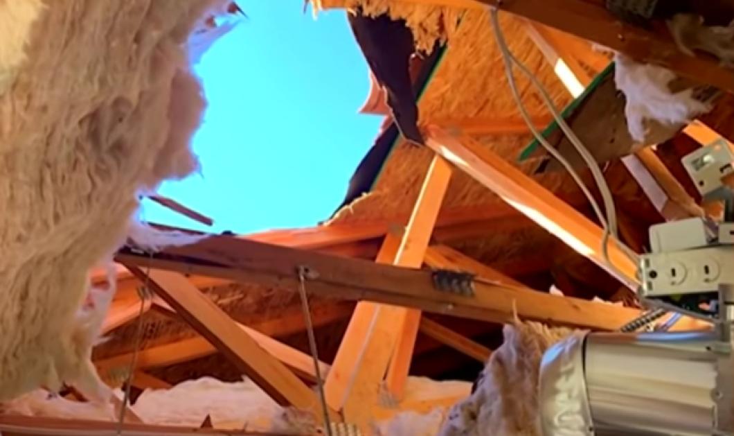 Βιντεο: Αλεξιπτωτιστής έπεσε σε στέγη σπιτιού & προσγειώθηκε στην κουζίνα του - Βγήκε ζωντανός μόνο με τραύματα  - Κυρίως Φωτογραφία - Gallery - Video