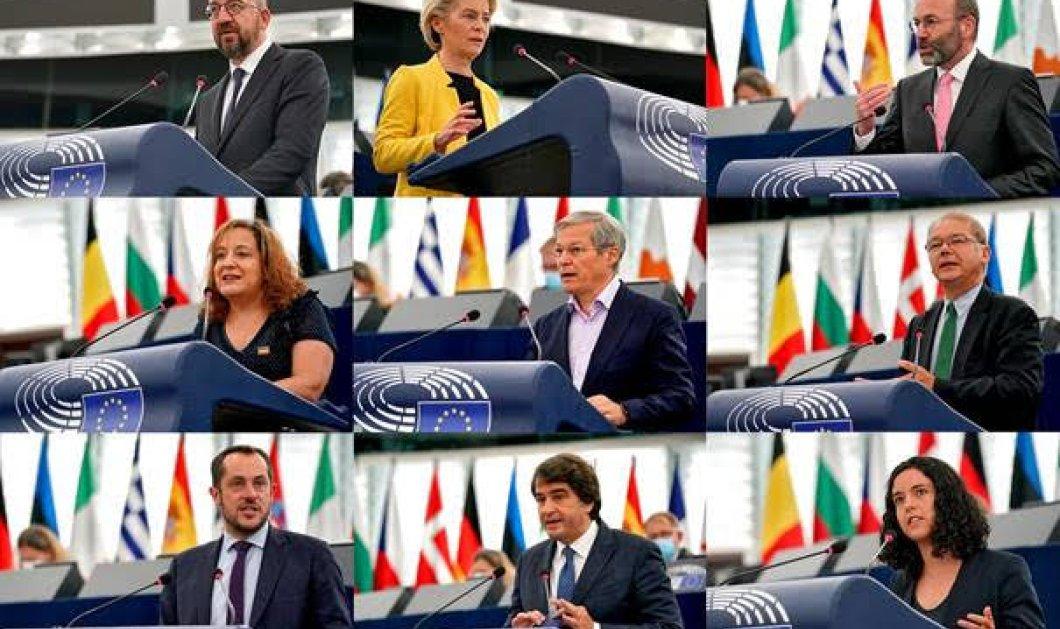Το ΕΚ ζητά την προστασία των θεμελιωδών αξιών στην ΕΕ και σε παγκόσμιο επίπεδο - Οι κίνδυνοι που απειλούν την δημοκρατία & το κράτος δικαίου   - Κυρίως Φωτογραφία - Gallery - Video