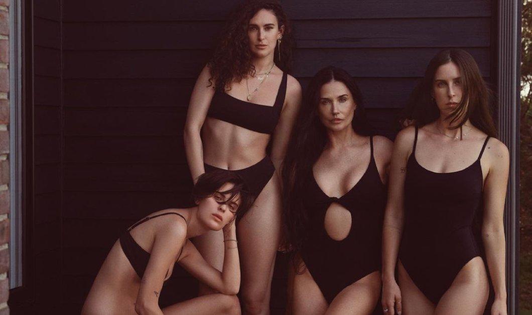Demi Moore: Αυτό είναι το μαγιό ''Σαντορίνη'' που λανσάρει με 95 δολάρια - Το ελληνικό όνομα στο διεθνές brand Αndie (φωτό) - Κυρίως Φωτογραφία - Gallery - Video