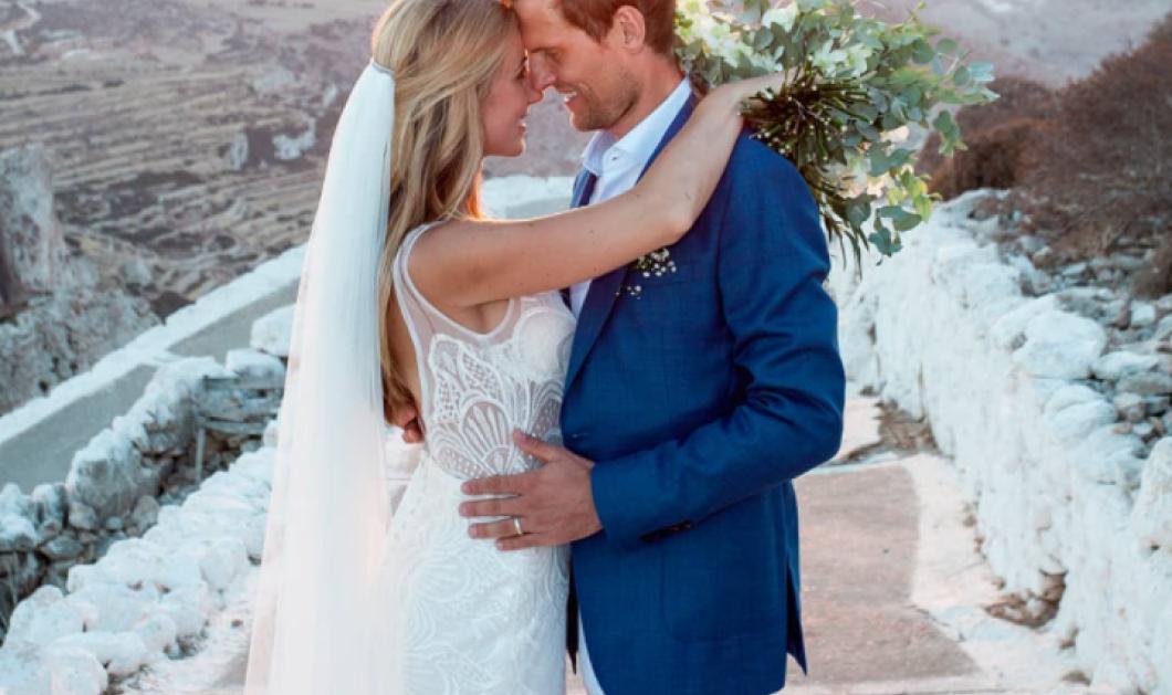 Το πανέμορφο ζευγάρι που έχει γυρίσει όλη την Ελλάδα & διαφημίζει τα νησιά μας - Η ιστορία τους & ο ρομαντικός γάμος στην Φολέγανδρο (φωτό) - Κυρίως Φωτογραφία - Gallery - Video