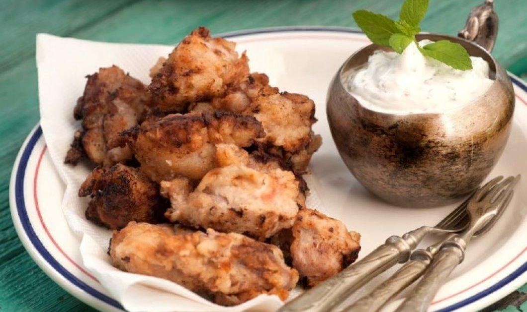 Αργυρώ Μπαρμπαρίγου: Χοιρινή τηγανιά μαριναρισμένη με σως γιαουρτιού - Για μερακλήδες του καλού φαγητού - Κυρίως Φωτογραφία - Gallery - Video