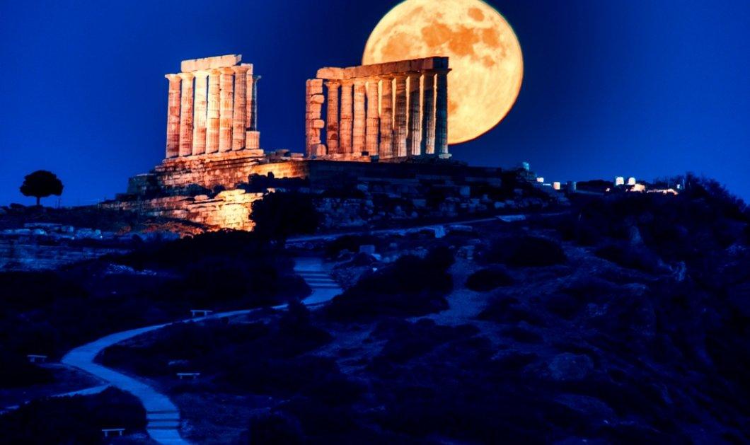 """Αυγουστιάτικη Πανσέληνος : Μύθοι  & αλήθειες για το πιο πολυύμνητο φεγγάρι του χρόνου -  """"Ψέμα"""" ότι είναι το πιο μεγάλο του έτους;   - Κυρίως Φωτογραφία - Gallery - Video"""