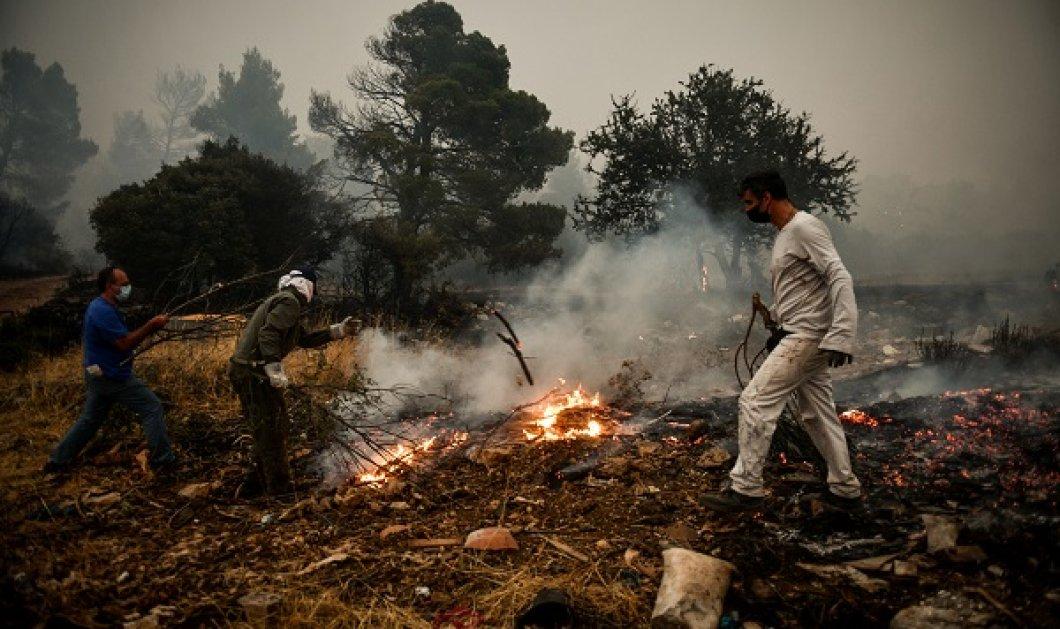Σε κατάσταση συναγερμού Αττική και Εύβοια: Ακραίος κίνδυνος πυρκαγιάς την Κυριακή - μήνυμα από το 112 (χάρτης) - Κυρίως Φωτογραφία - Gallery - Video