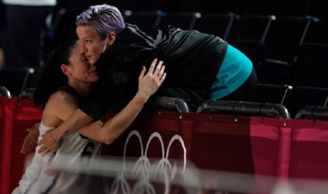 Ολυμπιακοί Αγώνες: «Συγχαρητήρια μωρό μου» - Ένα παθιασμένο φιλί στο στόμα αντάλλαξαν δύο αθλήτριες στο Τόκιο (φώτο) - Κυρίως Φωτογραφία - Gallery - Video