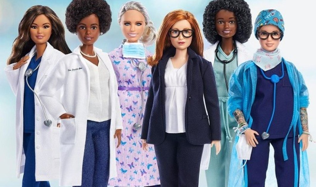 6 γυναίκες - ηρωίδες έγιναν Barbie: Φόρος τιμής σε γιατρίνες & επιστήμονες στην πρώτη γραμμή της μάχης κατά της covid (φωτό & βίντεο) - Κυρίως Φωτογραφία - Gallery - Video