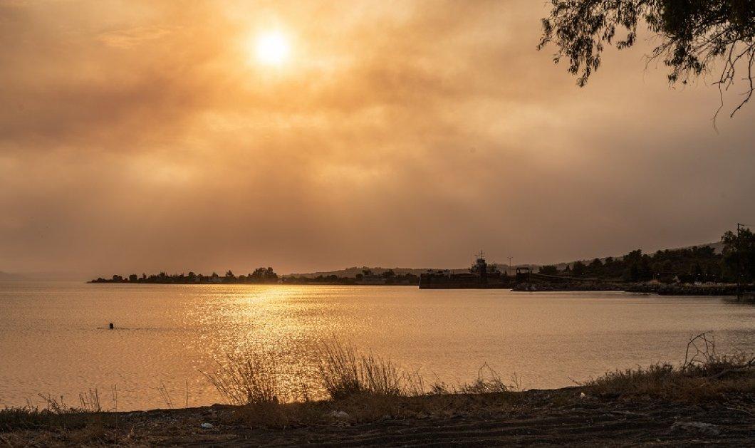 Φωτιά Εύβοια - Πύρινη κόλαση στη λίμνη - Κάηκαν σπίτια & αυτοκίνητα - Εκκενώθηκαν 6 χωριά - Οι φλόγες ως τη θάλασσα (φώτο - βίντεο) - Κυρίως Φωτογραφία - Gallery - Video