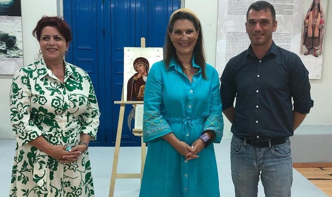 To eirinika στο Καστελλόριζο συναντά την Παναγία στα σπάνια πρόσωπα της - Η αγιογράφος Ελένη Αντωνακάκη και η Παναγιά της Νίκης, η Παναγιά 3 ετών, 7σπαθη, Καλομάτα...  - Κυρίως Φωτογραφία - Gallery - Video