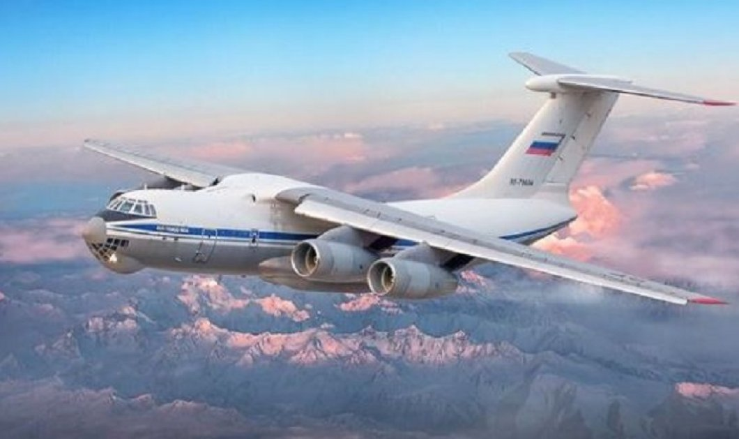 """Άμεση η ανταπόκριση της Ρωσίας: Δύο """"ιπτάμενα τάνκερ"""" - αεροσκάφη Ilyushin Il-76 και δύο ελικόπτερα Mil Mi-8 αποστέλλει η Μόσχα στην Ελλάδα  - Κυρίως Φωτογραφία - Gallery - Video"""
