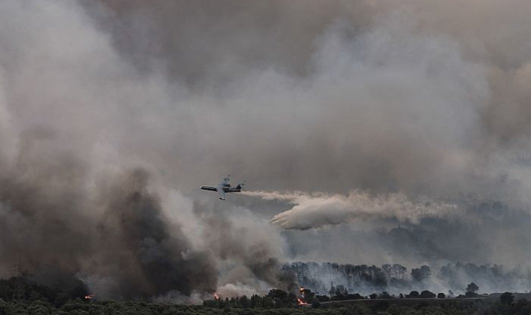 Η Ελλάδα ''καπνίζει'' - Το βίντεο με τις πυρκαγιές που πλήγωσαν Αττική & Εύβοια - Εθνικό Αστεροσκοπείο Αθηνών  - Κυρίως Φωτογραφία - Gallery - Video