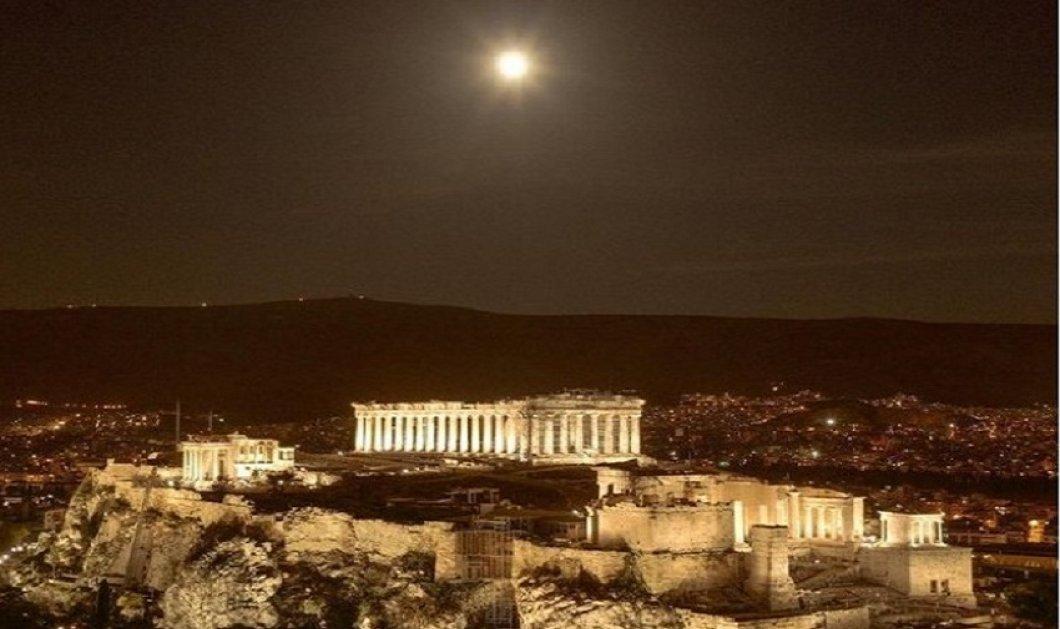 Greek Summer 2021 : O @Mliaroutsos παρουσιάζει την αυγουστιάτικη πανσέληνο πάνω από την ακρόπολη - Μαγεία ! - Ο Έλληνες φωτογράφοι προτείνουν  - Κυρίως Φωτογραφία - Gallery - Video