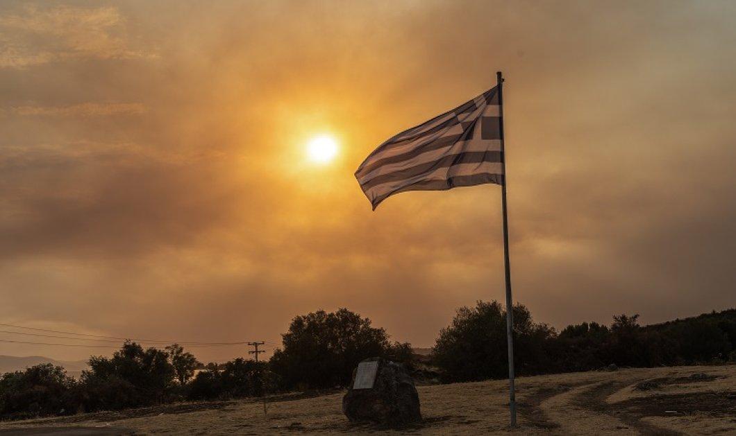 Φωτιά - Λίμνη: «Θα καούν όλα τα σπίτια, ελάτε τώρα!» - Συγκλονιστικό βίντεο με τις φλόγες να περικυκλώνουν τα πάντα! - Κυρίως Φωτογραφία - Gallery - Video
