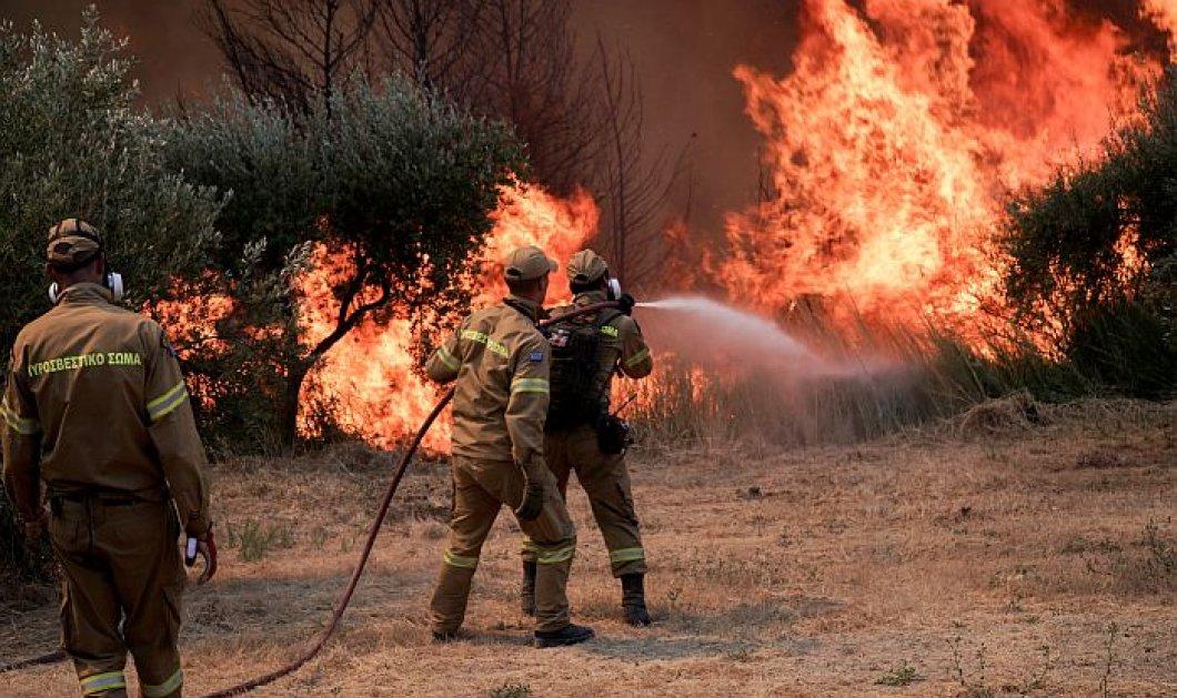 Φωτιά στην Ηλεία: Εγκλωβισμένοι 150 πολίτες στον Κλαδέο - Εκκενώνονται προληπτικά άλλες 10 κοινότητες (βίντεο) - Κυρίως Φωτογραφία - Gallery - Video