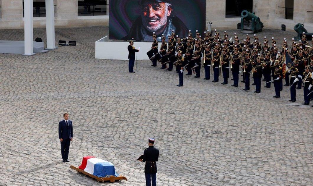 """Κηδεία Ζαν Πολ - Μπελμοντό: Η Γαλλία αποχαιρετά τον αγαπημένο της """"Bebel"""" - """"Ο φίλος που όλοι ονειρεύονταν"""" - λέει ο Μακρόν (φώτο-βίντεο) - Κυρίως Φωτογραφία - Gallery - Video"""
