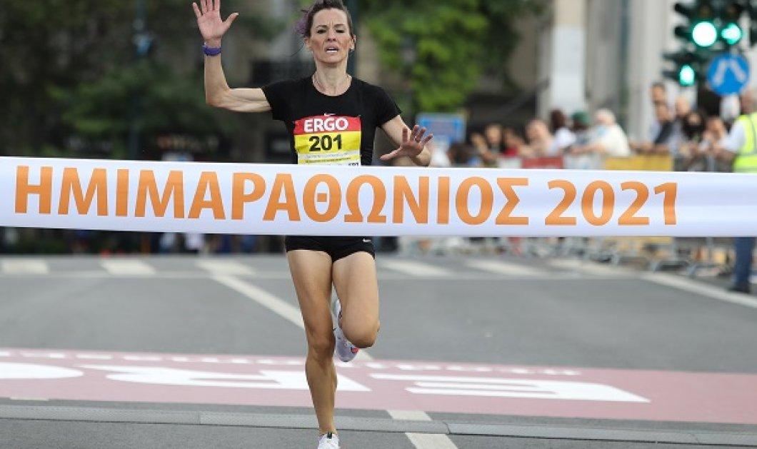 Αφιερωμένος στον Μίκη Θεοδωράκη ο Ημιμαραθώνιος Αθήνας 2021: Δείτε ποιοι δρόμοι είναι κλειστοί (φωτό & βίντεο) - Κυρίως Φωτογραφία - Gallery - Video