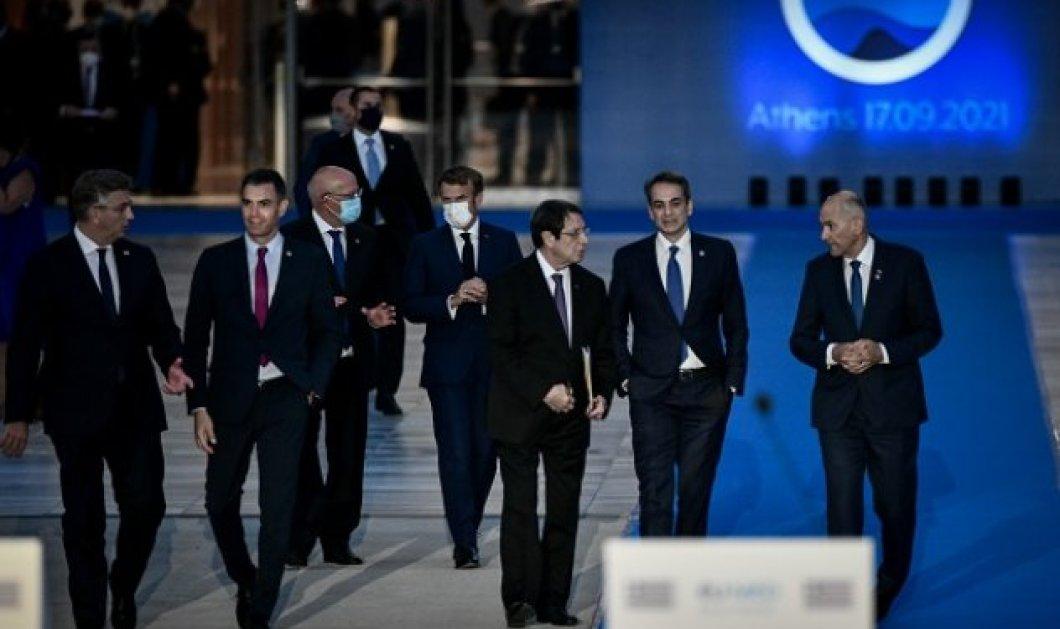 EUMED 9: Η Διακήρυξη των Αθηνών για την κλιματική αλλαγή - Δέσμευση για εφαρμογή της Συμφωνίας των Παρισίων (βίντεο) - Κυρίως Φωτογραφία - Gallery - Video