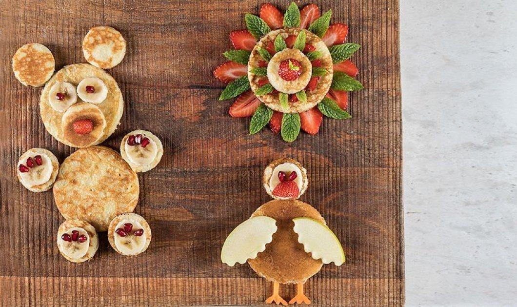 Άκης Πετρετζίκης: Δημιουργήστε τα πιο πρωτότυπα pancakes για τα παιδιά σας - Σε σχήμα αρκουδίτσας & κοτούλας  - Κυρίως Φωτογραφία - Gallery - Video