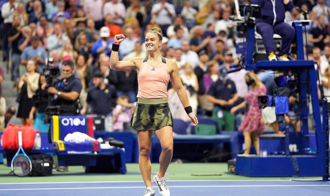 Πόσα πολλά Μπράβο Μαρία Σάκκαρη σου αξίζουν - Στα ημιτελικά του US Open προελαύνει η μεγάλη μας τενίστρια (φωτό - βίντεο)  - Κυρίως Φωτογραφία - Gallery - Video