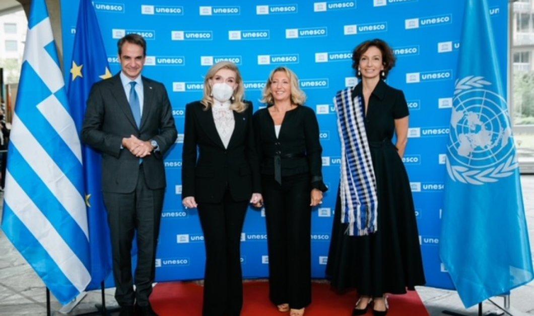 Μαριάννα Βαρδινογιάννη στο Παρίσι: Επίσκεψη του πρωθυπουργού στην UNESCO και συνάντηση με την Audrey Azoulay (φωτό)  - Κυρίως Φωτογραφία - Gallery - Video