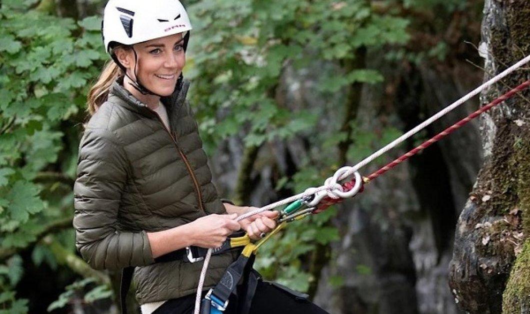 Kate Middleton η ατρόμητη! Κάνει καταρρίχηση, mountain bike, πεζοπορία - το βίντεο με την γενναία Δούκισσα, που ξετρέλανε τους fans της - Κυρίως Φωτογραφία - Gallery - Video
