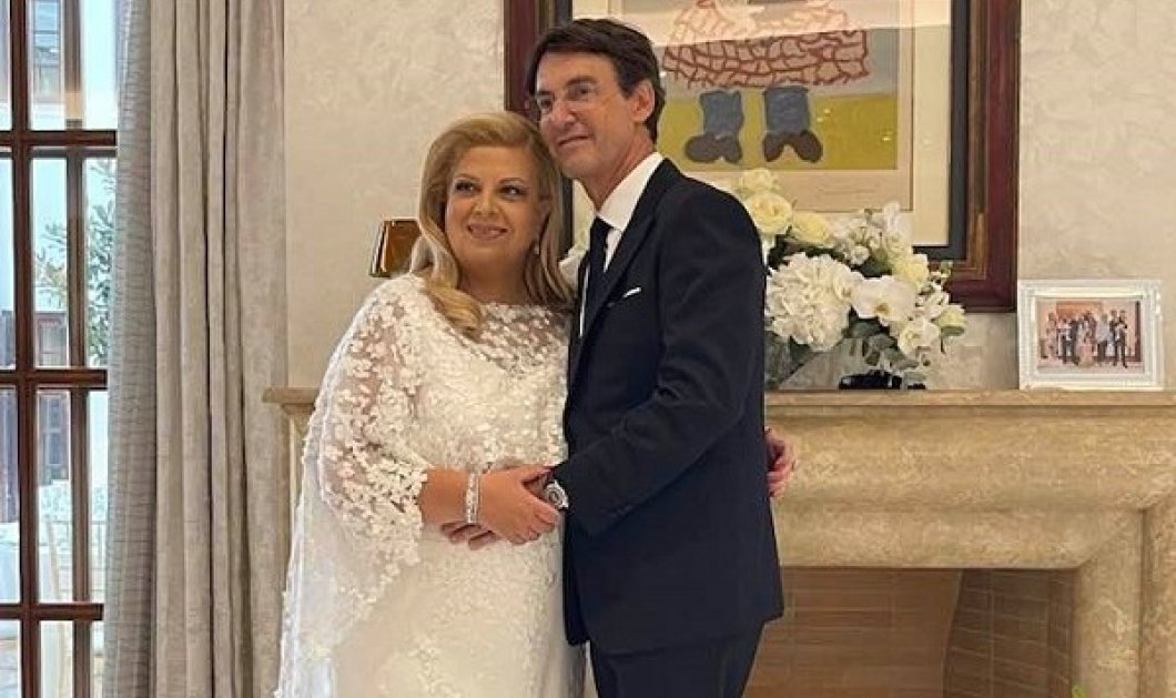 Κλέλια Χατζηιωάννου - Κωνσταντίνος Σκορίλας: Παντρεύτηκε η «πριγκίπισσα των τάνκερ» - η Άννα Βίσση τραγούδησε στη δεξίωση (φωτό) - Κυρίως Φωτογραφία - Gallery - Video