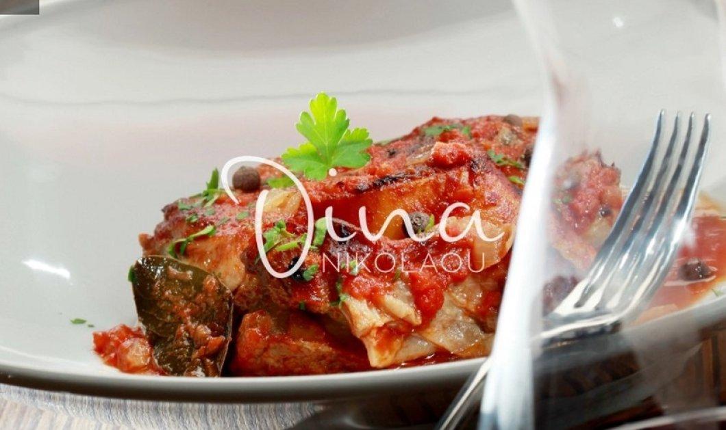 Έκρηξη γεύσης στη συνταγή της Ντίνας Νικολάου:  Λαχταριστό όσο - μπούκο στη γάστρα με χυλοπίτες  - Κυρίως Φωτογραφία - Gallery - Video