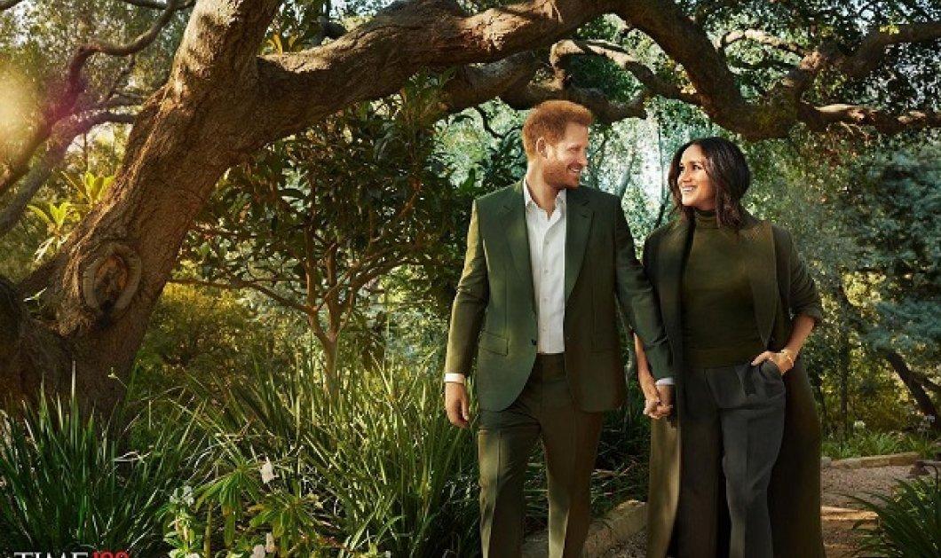 Πρίγκιπας Χάρι - Μέγκαν Μαρκλ: Το εξώφυλλο στο περιοδικό Time & η ρομαντική τους φωτό - το ζευγάρι χέρι, χέρι όπως το 2018 (φωτό & βίντεο) - Κυρίως Φωτογραφία - Gallery - Video