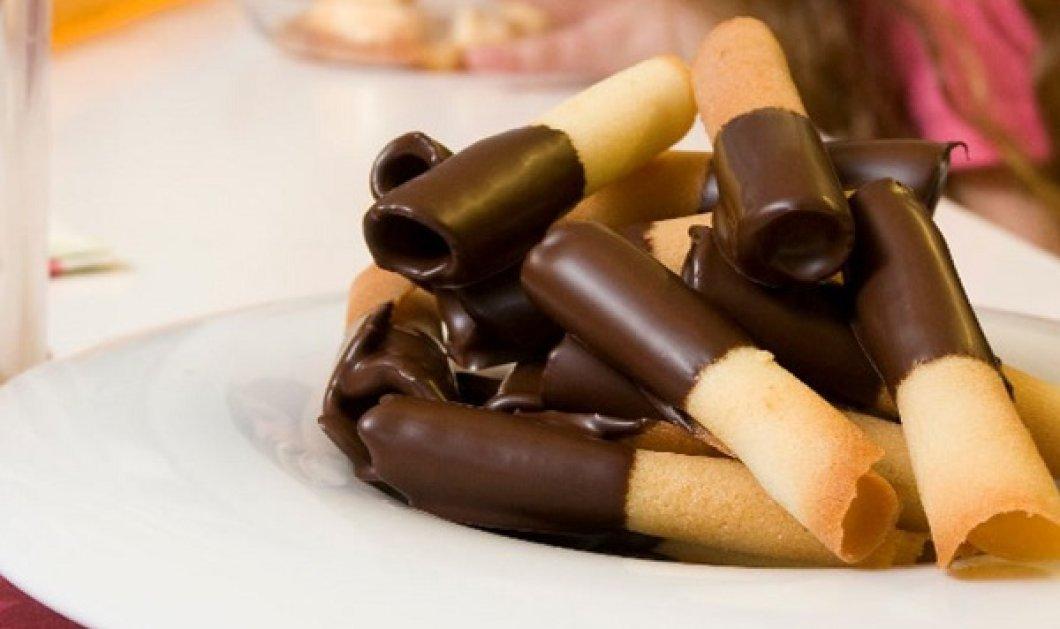 Ο Στέλιος Παρλιάρος έχει την συνταγή που θα λατρέψουν όλα τα παιδιά - Έτσι θα φτιάξουμε στο σπίτι πουράκια σοκολάτας  - Κυρίως Φωτογραφία - Gallery - Video