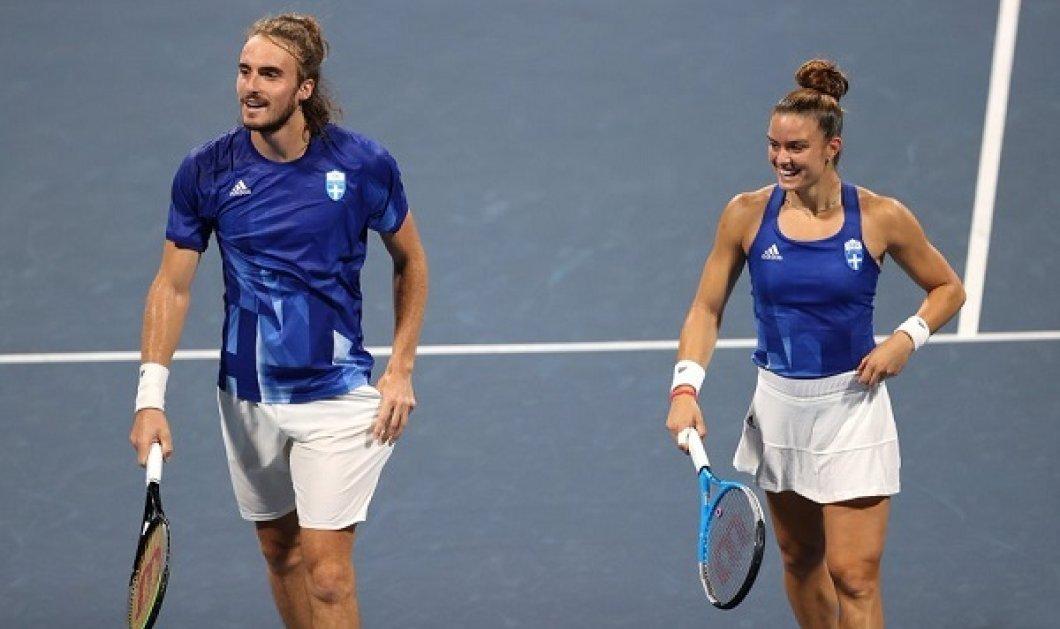 Με ελληνική σημαία το tweet της Παγκόσμιας Ομοσπονδίας του τένις: Τσιτσιπάς &  Σάκκαρη, 2 Έλληνες για πρώτη φορά στο top 10 (φωτό)  - Κυρίως Φωτογραφία - Gallery - Video