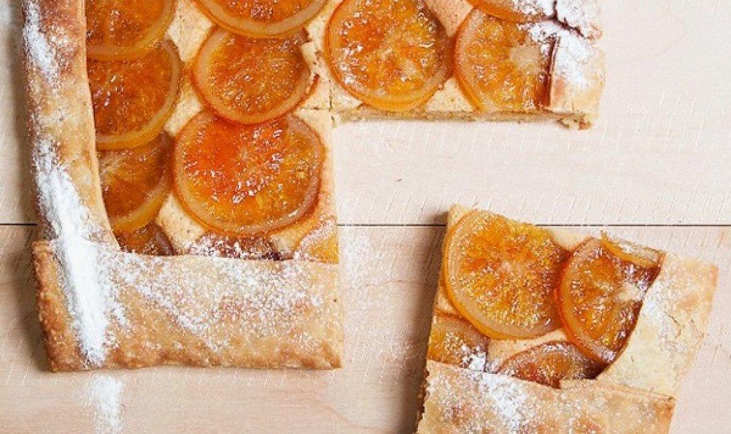 Ο Στέλιος Παρλιάρος προτείνει: Τάρτα πορτοκαλιού - το απόλυτο γλυκό για τις φθινοπωρινές & χειμωνιάτικες ημέρες - Κυρίως Φωτογραφία - Gallery - Video