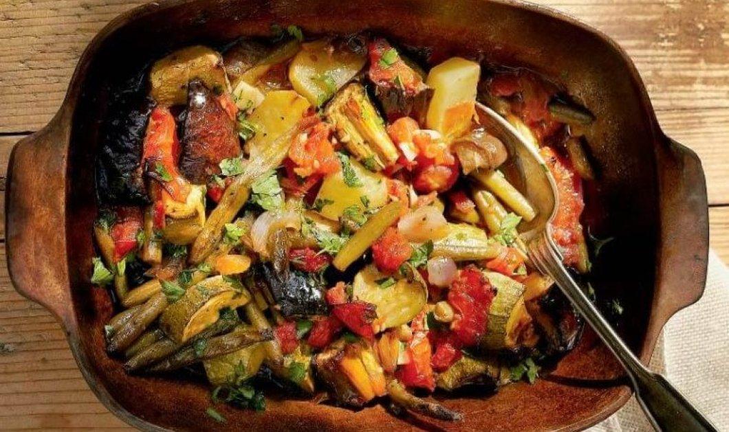 Η Σοφαγάδα της Αργυρώς Μπαρμπαρίγου είναι ένα λουκούμι - Παραδοσιακό φαγητό με λαχανικά στη γάστρα - Κυρίως Φωτογραφία - Gallery - Video