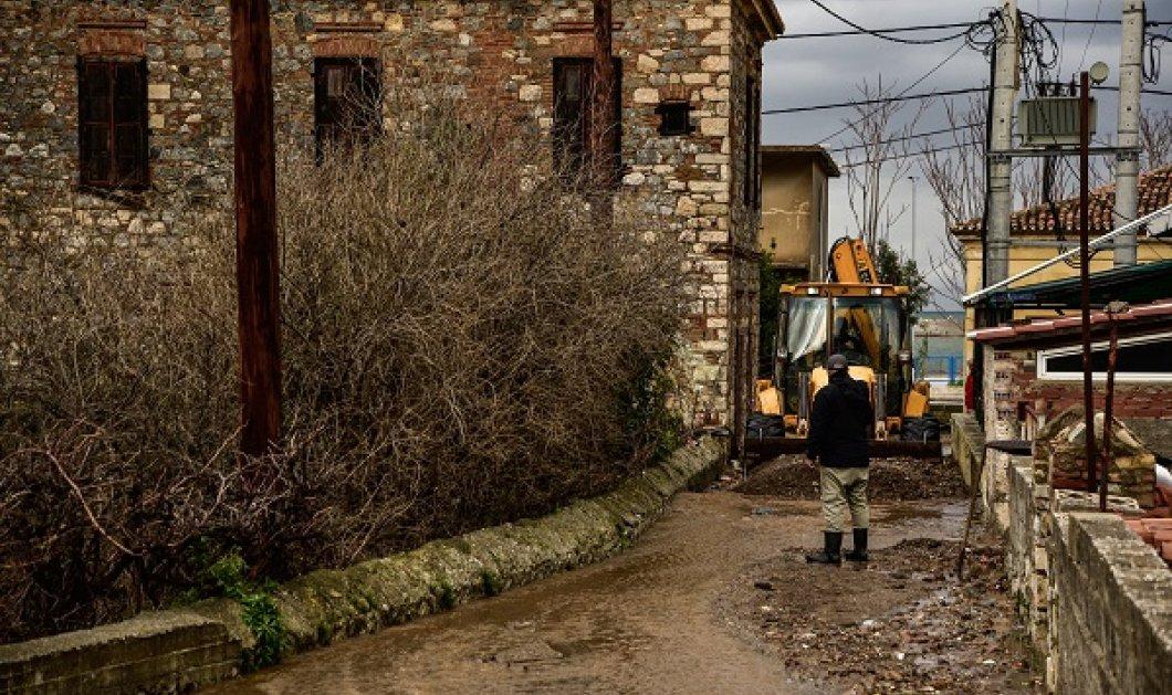 Κακοκαιρία Αθηνά: Εικόνες καταστροφής στη Βόρεια Εύβοια - παραλίες χάθηκαν, δρόμοι & σπίτια πλημμύρισαν (φωτό & βίντεο) - Κυρίως Φωτογραφία - Gallery - Video