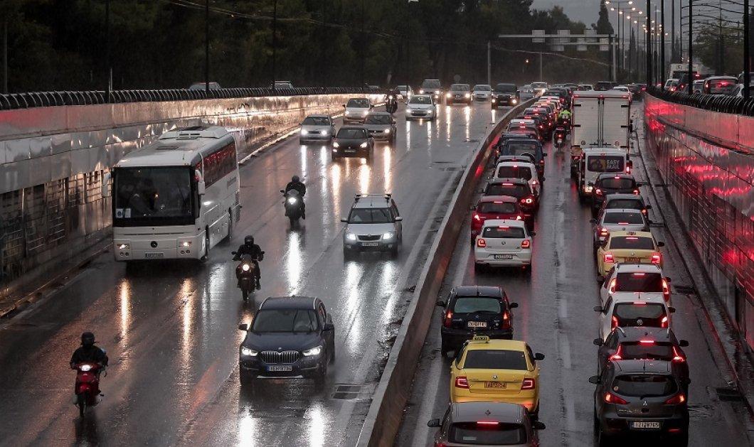 Κακοκαιρία Μπάλλος: Απαγόρευση κυκλοφορίας στον Κηφισό & στην Παραλιακή αύριο - Κλειστό το δημόσιο - όλα τα μέτρα (φώτο -βίντεο) - Κυρίως Φωτογραφία - Gallery - Video