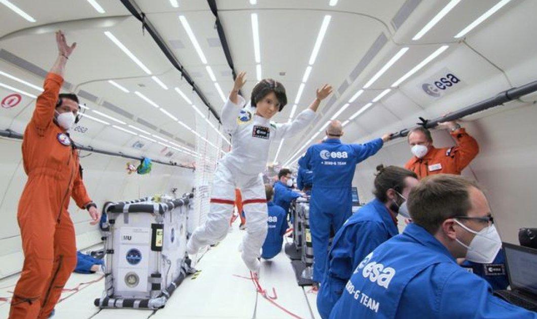 O  ESA έστειλε την Barbie στο διάστημα - Η αστροναύτης - Samantha Cristoforetti σε ένα ταξίδι χωρίς βαρύτητα (φώτο -βίντεο) - Κυρίως Φωτογραφία - Gallery - Video
