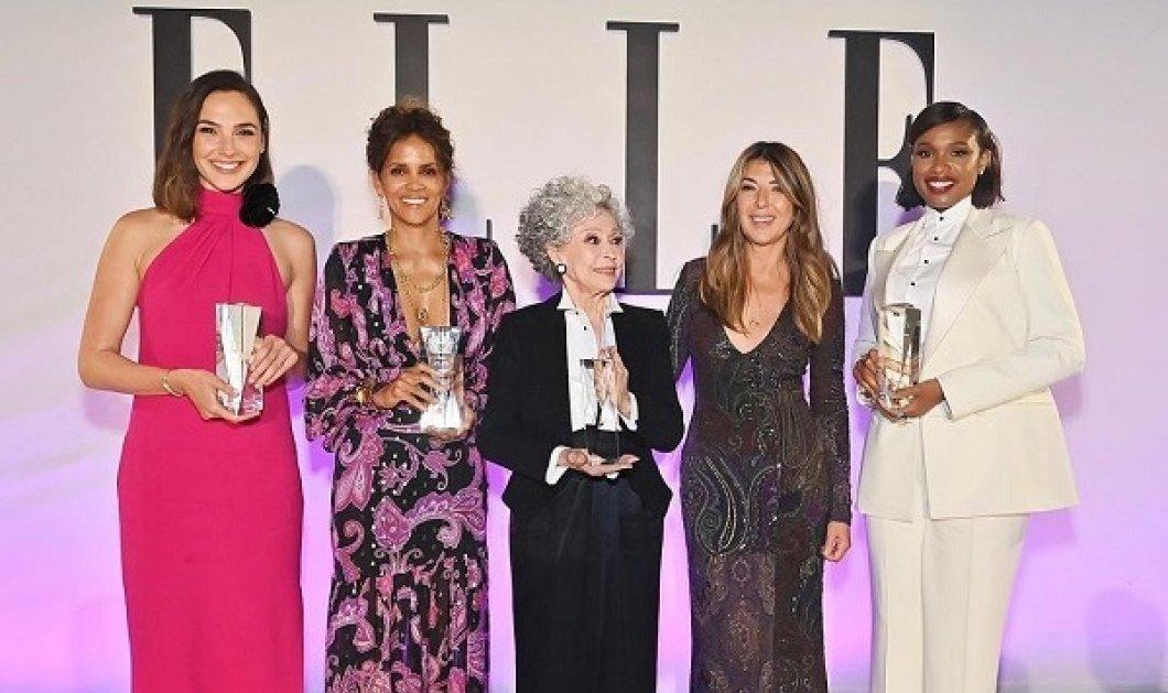 Το Elle τίμησε τις «Γυναίκες του Χόλιγουντ» για το 2021: Angelina Jolie, Halle Berry & Salma Hayek ανάμεσά τους (φωτό & βίντεο) - Κυρίως Φωτογραφία - Gallery - Video