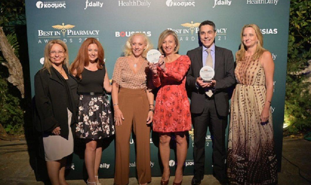 ITF HELLAS: Διπλή βράβευση στα Best in Pharmacy Awards 2021  - Κυρίως Φωτογραφία - Gallery - Video