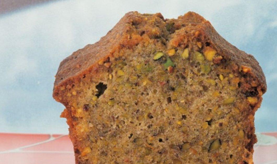 Στέλιος Παρλιάρος: Κέικ με φιστίκια Αιγίνης και ελαιόλαδο - Αν αγαπάτε τα γλυκά ταψιού πρέπει να το δοκιμάσετε - Κυρίως Φωτογραφία - Gallery - Video