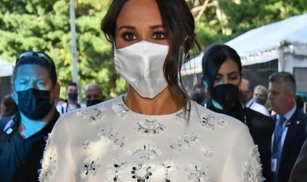 Λατρέψατε την ολομέταξη μάσκα που φόρεσε η Meghan Markle στη Νέα Υόρκη;- Σας την βρήκαμε από το Αmazon - Κυρίως Φωτογραφία - Gallery - Video