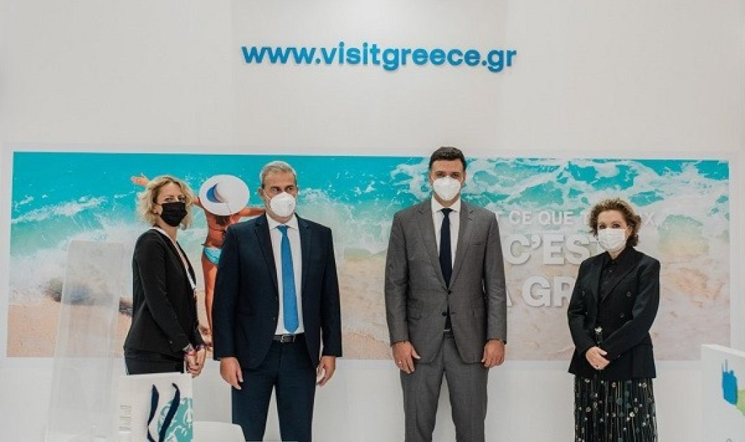 Kikilias en France! Ο Υπουργός Τουρισμού στην Γαλλία: Αυτά είναι τα ρεκόρ των Γάλλων τουριστών - θα έρθουν & τα Χριστούγεννα (φωτό & βίντεο) - Κυρίως Φωτογραφία - Gallery - Video