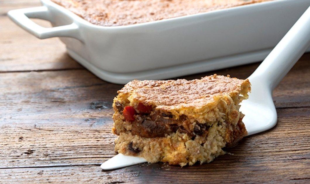 Αργυρώ Μπαρμπαρίγου: Κέικ καλαμποκιού γεμιστό με λαχανικά - Ένας έξυπνος τρόπος για να πάρουν τα παιδιά βιταμίνες  - Κυρίως Φωτογραφία - Gallery - Video