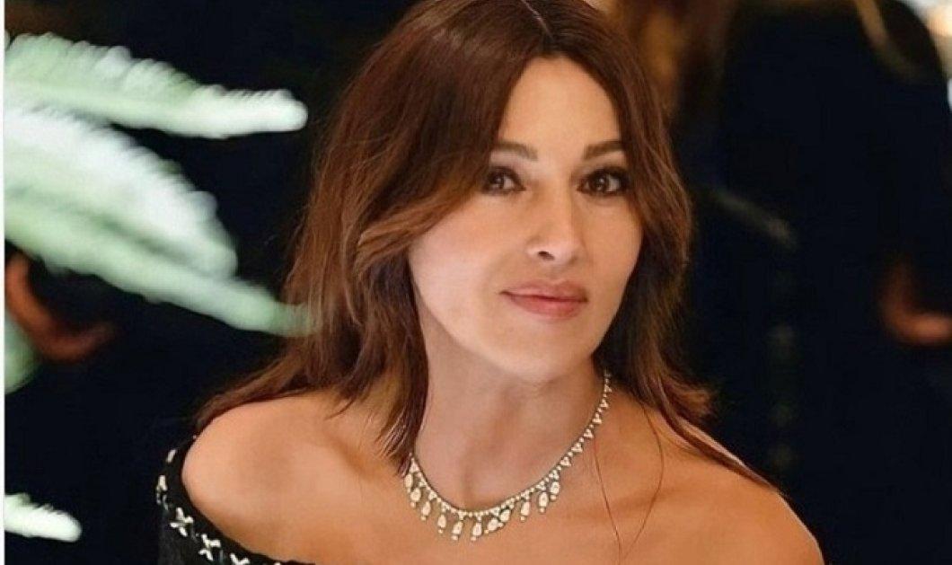 Μόνικα Μπελούτσι: Η εμφάνιση με κολιέ Cartier & μαύρο φόρεμα Chanel χθες βράδυ στο Παρίσι (φώτο) - Κυρίως Φωτογραφία - Gallery - Video