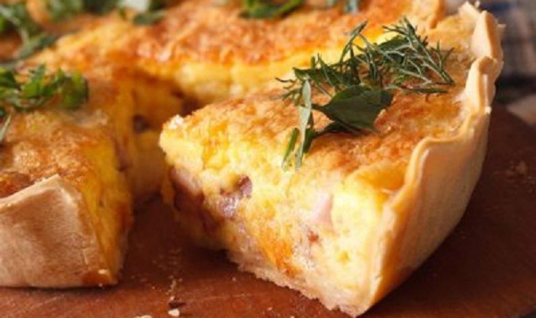 Δημήτρης Σκαρμούτσος: Quiche με ζαμπόν και γραβιέρα - η πεντανόστιμη συνταγή που θα σας ξετρελάνει - Κυρίως Φωτογραφία - Gallery - Video