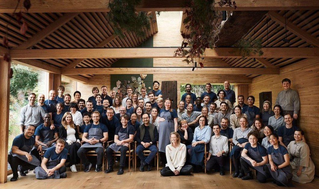 Νoma: Το καλύτερο εστιατόριο στον κόσμο για 5η φορά - Δείτε τον πανηγυρισμό των 70 chefs και Sous-chefs (φωτό - βίντεο) - Κυρίως Φωτογραφία - Gallery - Video