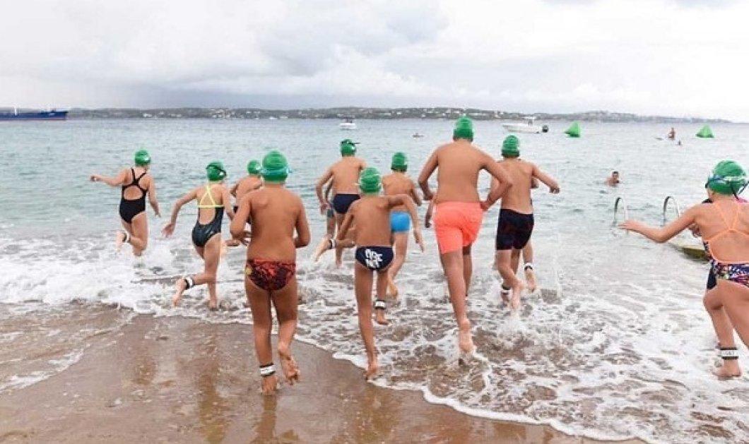 Σε πείσμα του καιρού εκατοντάδες κολυμβητές βούτηξαν στο «Spetses Mini Marathon»: Ωραίες εικόνες - αθλητικό Weekend (βίντεο) - Κυρίως Φωτογραφία - Gallery - Video