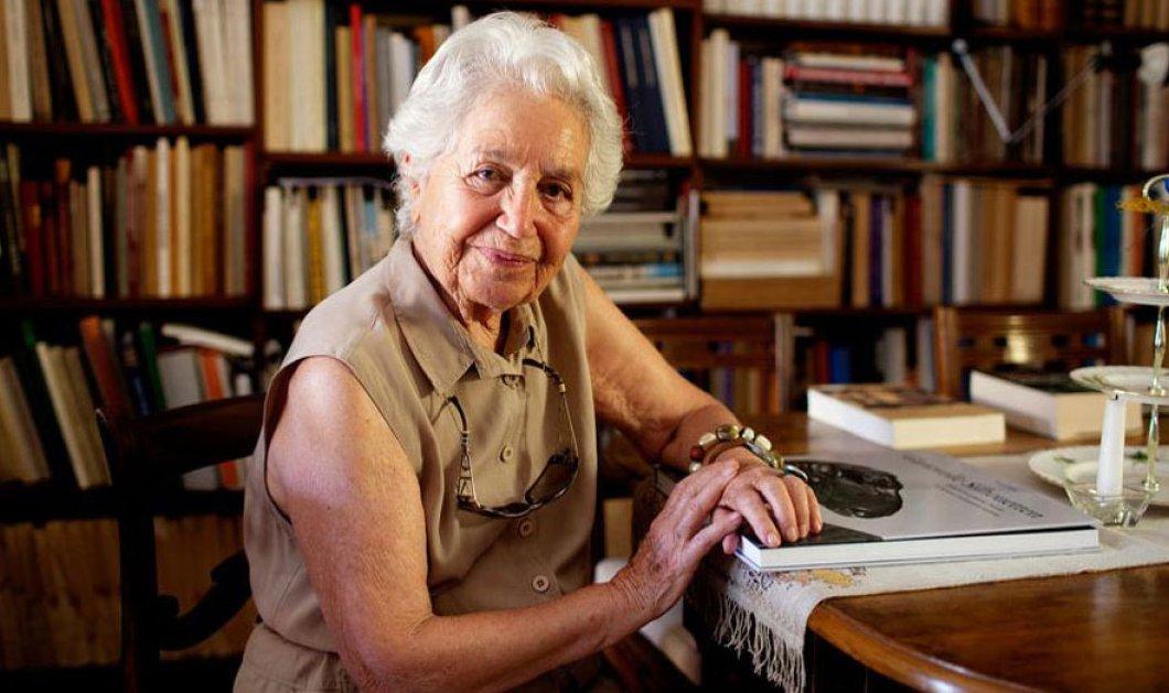 Πέθανε σε ηλικία 97 ετών η Έβη Τουλούπα - Ήταν μια από τις πιο σημαντικές αρχαιολόγους της χώρας  - Κυρίως Φωτογραφία - Gallery - Video